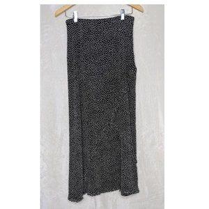 Harold's Full Length Ruffled Maxi Skirt Sz 8